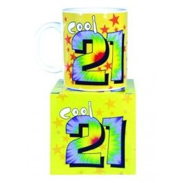 Cool 21st birthday Novelty Mug