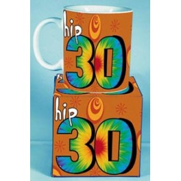 Hip 30th birthday Novelty Mug