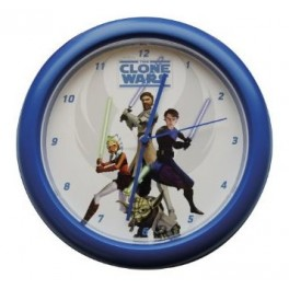 Star Wars Clone Wars Wall Clock