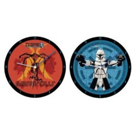 The Clone Wars Lenticular Wall Clock