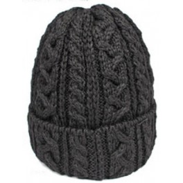 Highland 2000 Black Wool Beanie
