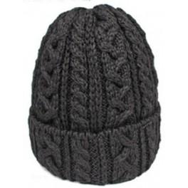Highland 2000 Black Wool Beanie