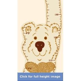 Teddy Bear Height Chart