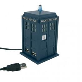 Dr Who Tardis USB 4 Port Powered Hub Station
