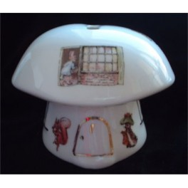 Toadstool House Money Box - Beatrix Potter