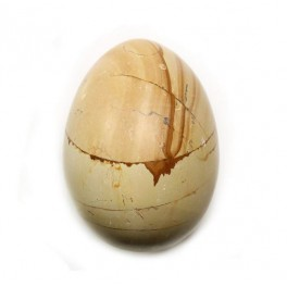 50mm Burma Teak Marble Polished Gemstone Carved Egg
