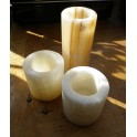 Mexican Onyx T-Light Holder 6x6cm