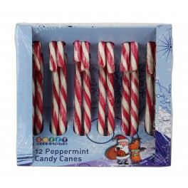 Bulk Case Peppermint Candy Cane - 24 x 12