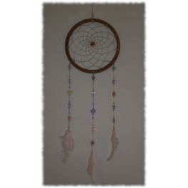 Soft pastel raindow Dream Catcher
