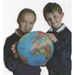 Fact Finders Inflatable Globe